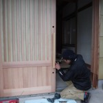 K様邸新築工事(252)木製建具工事①の詳細へ