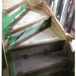 宿舎の階段取付の詳細へ