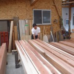 K様邸新築工事(4)柱梁の選別①の詳細へ