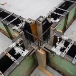 K様邸新築工事(30)コンクリート打込み前のアンカーボルトセットの詳細へ