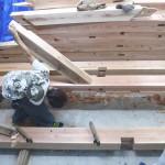 K様邸新築工事(38)各所仕口と各梁の詳細へ