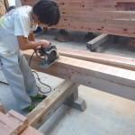 K様邸新築工事(39)各所梁と垂木の詳細へ