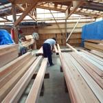 K様邸新築工事(14)柱、差し鴨居の材料選別の詳細へ