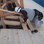 K様邸新築工事(70)化粧野地板の詳細へ