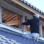 K様邸新築工事(115)越屋根外額縁取付の詳細へ